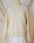 Vintage Pure Wool Roll Neck Jumper