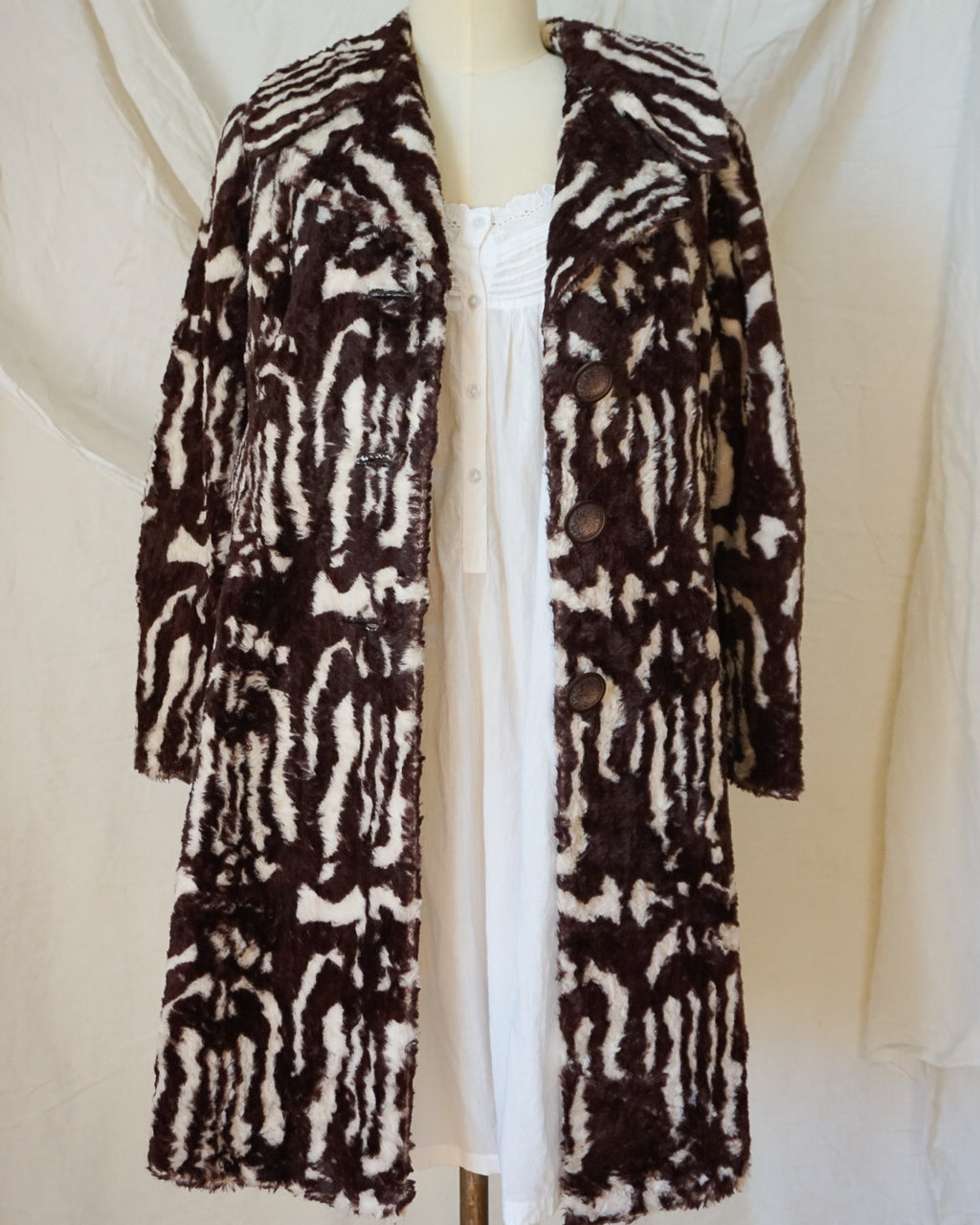 Vintage Faux-Fur Coat