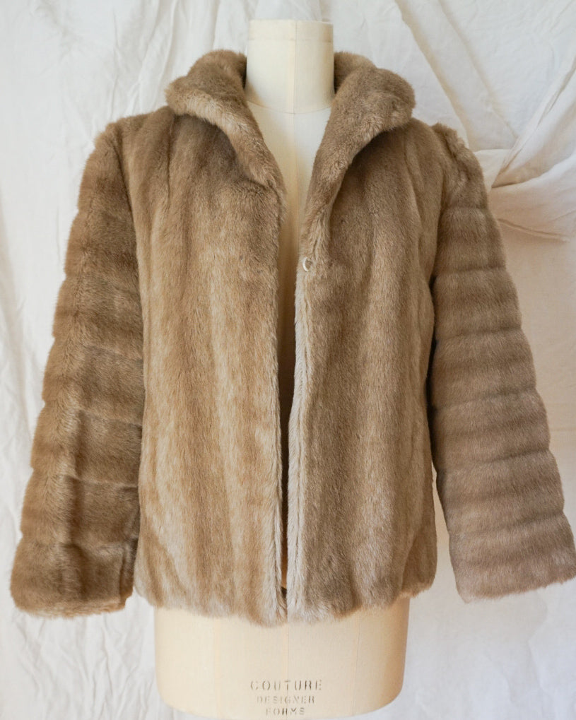 Vintage Faux-Fur jacket