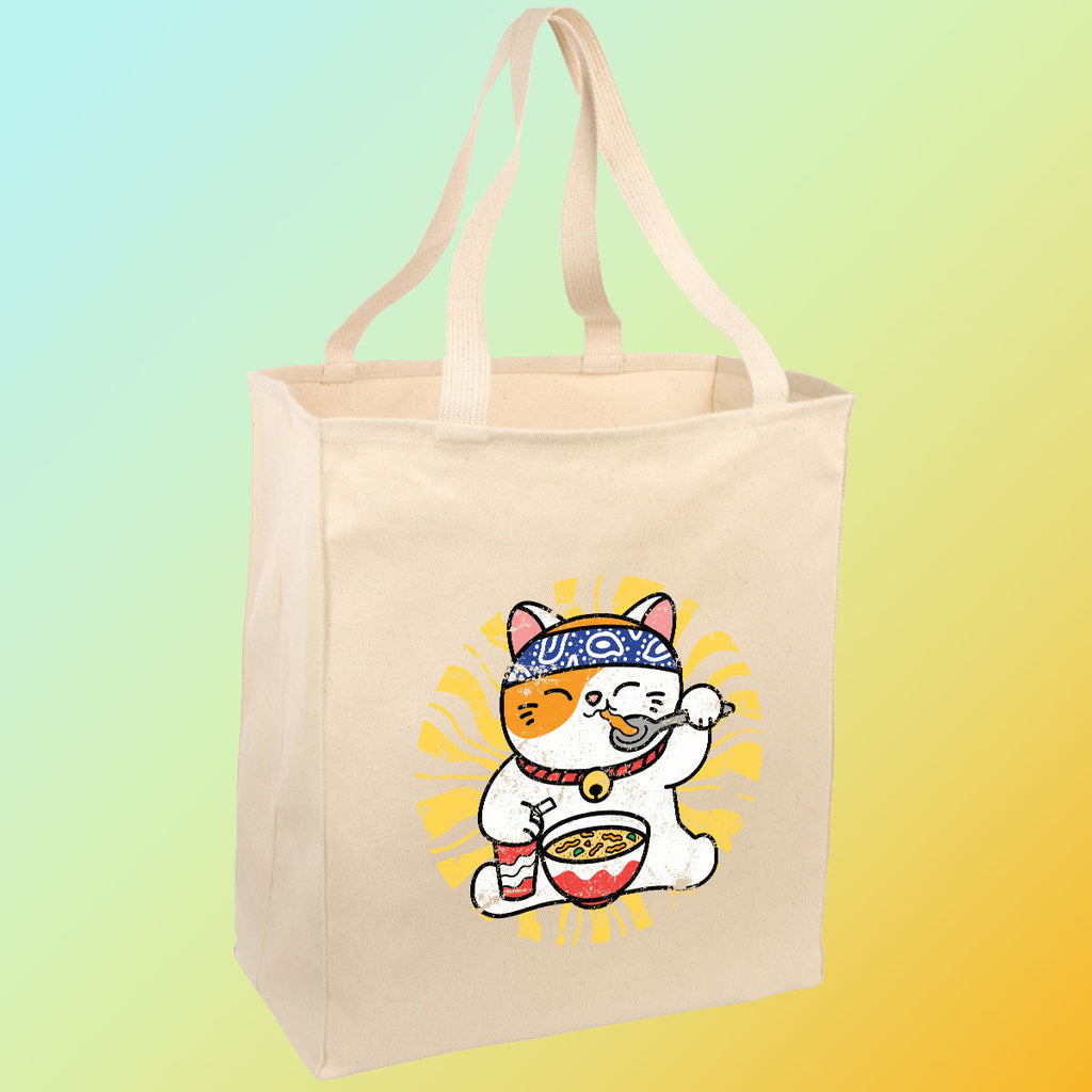 Chicken Noodle Soup Cat - Tote