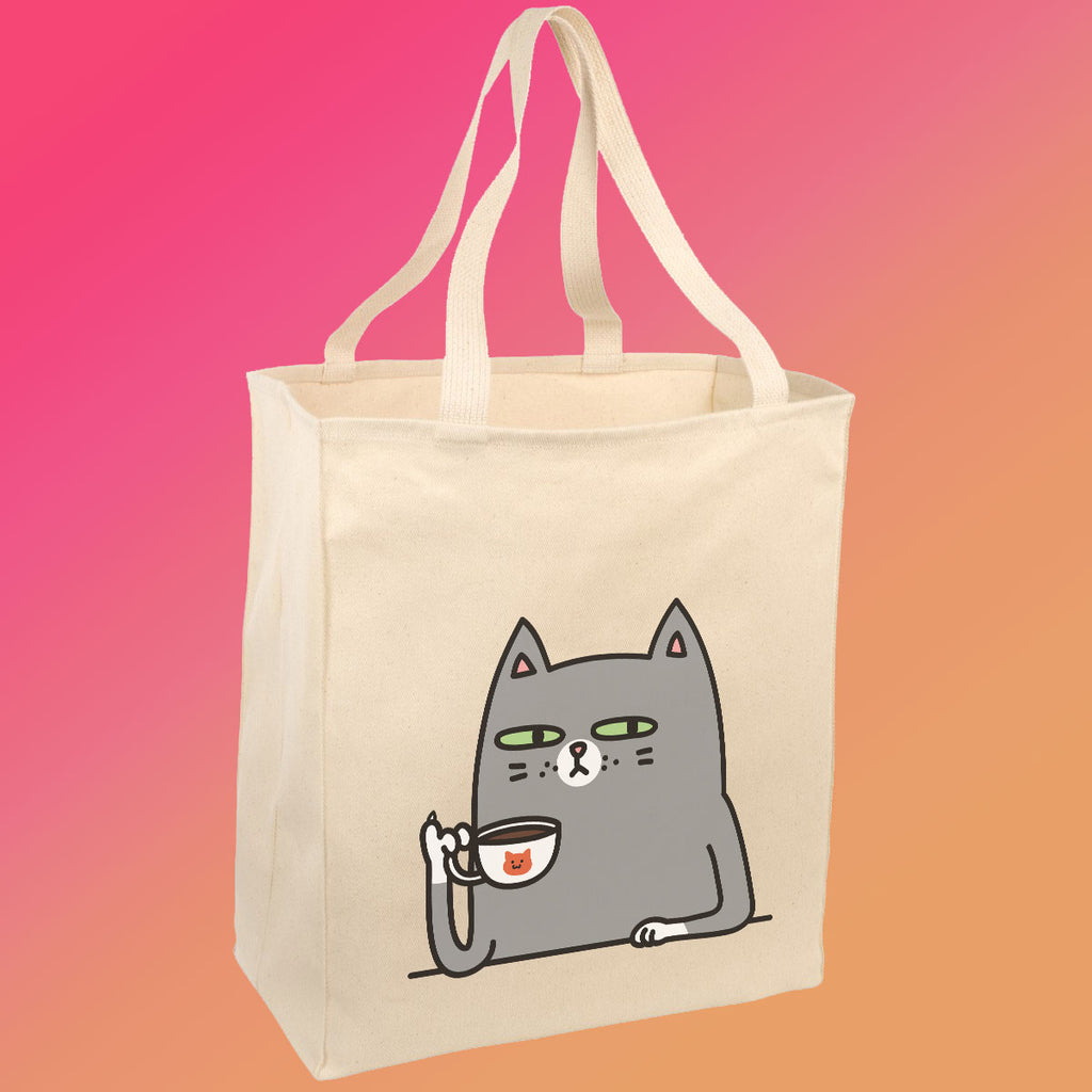 Not Before Coffee - Tote