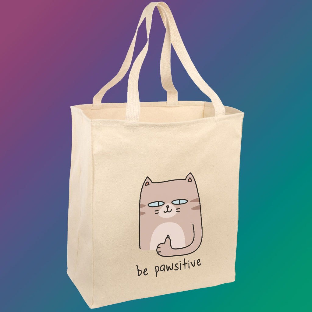 Be Pawsitive - Tote