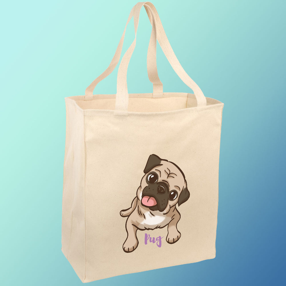 Pickles the Pug - Tote