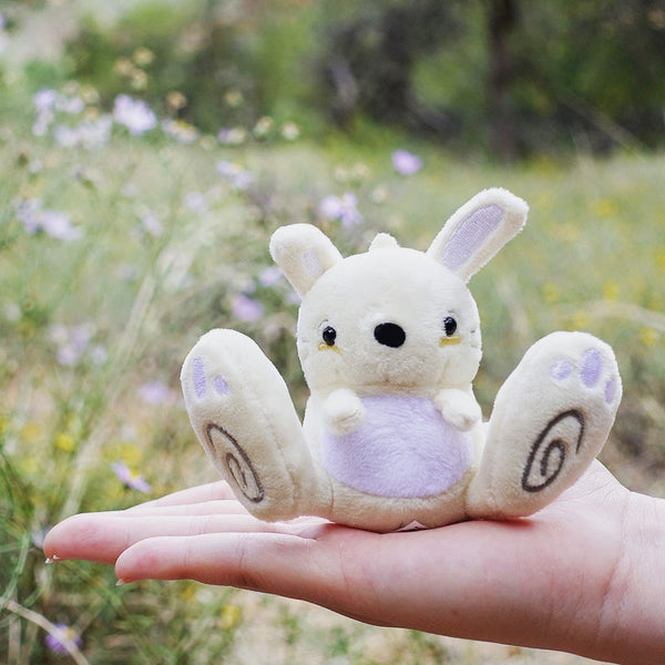 Awkward Bunny Mini Plush/Keychain