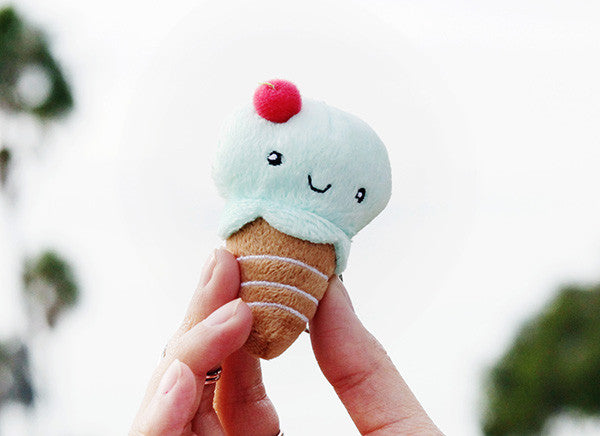 I'm Cool (Ice Cream) Keychain