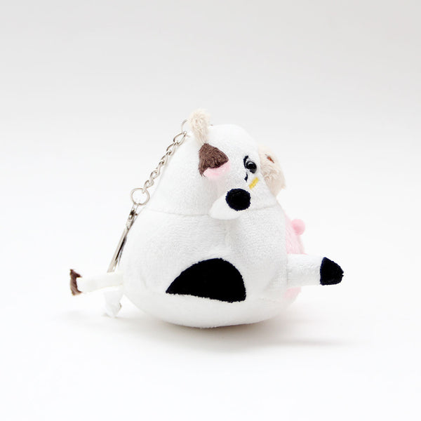 Awkward Cow Mini Plush/Keychain