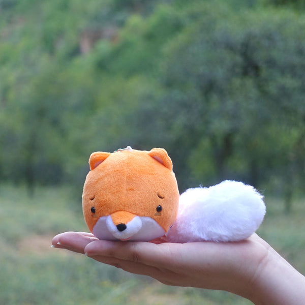Awkward Fox Mini Plush/Keychain