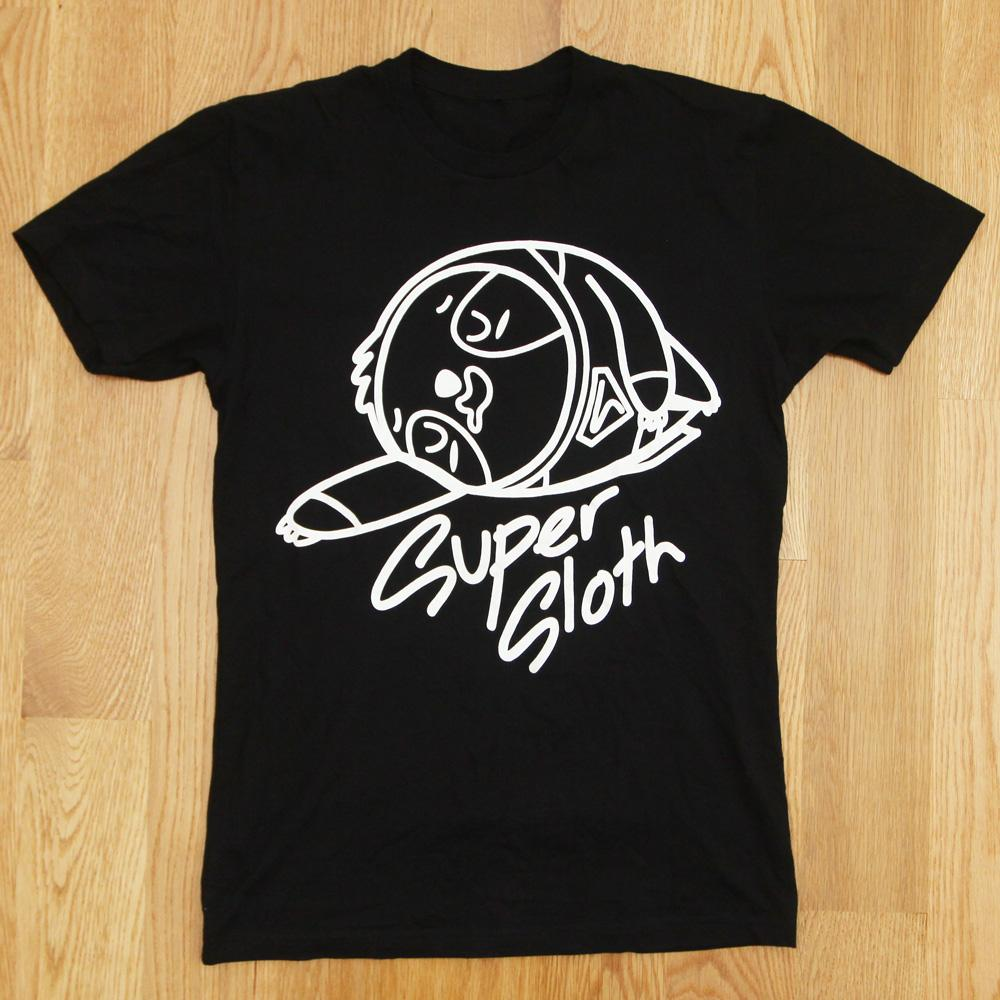 Super Sloth in Black (UNISEX)
