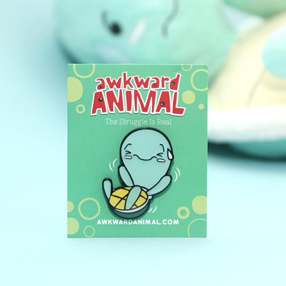 Awkward Turtle Pin
