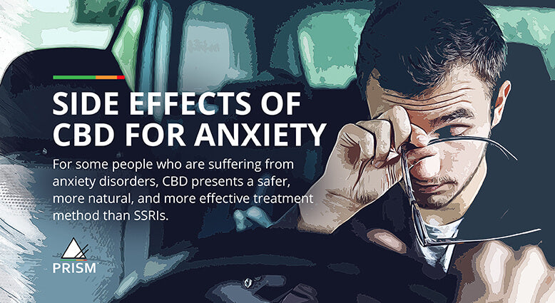 Side effects of CBD for anxiety