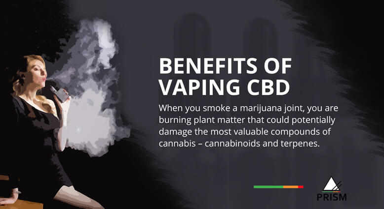 Benefits of vaping CBD