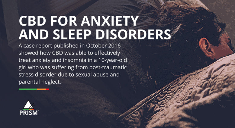 CBD for anxiety and sleep disorders
