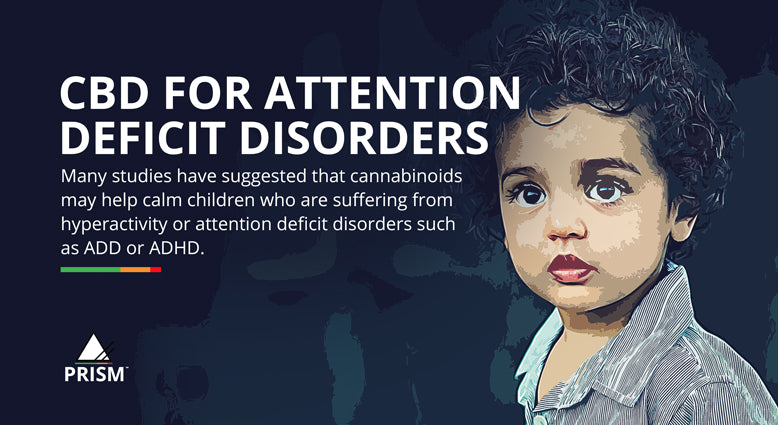 CBD for attention deficit disorders