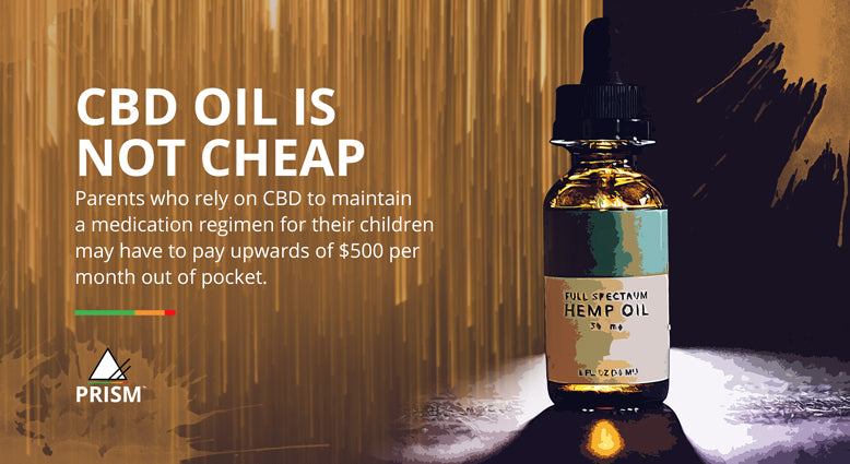 CBD oil is not cheap