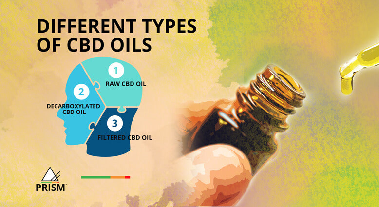 Different types of CBD oils