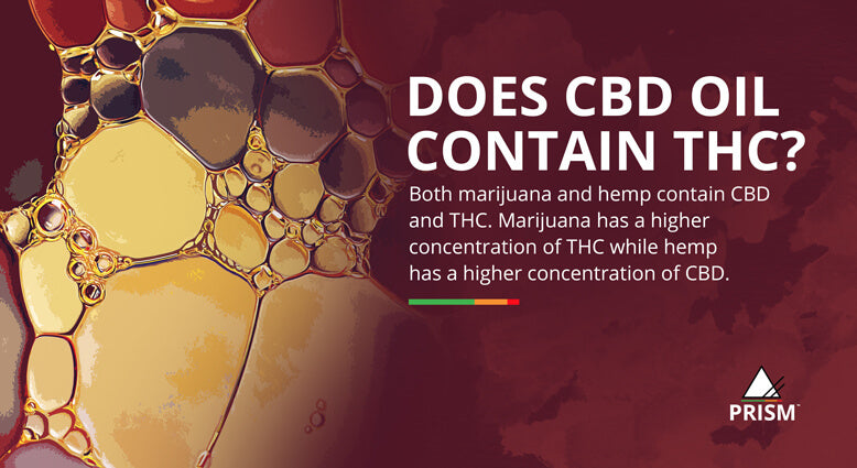 Does CBD oil contain THC?