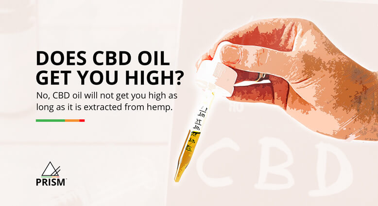 Does CBD oil get you high?