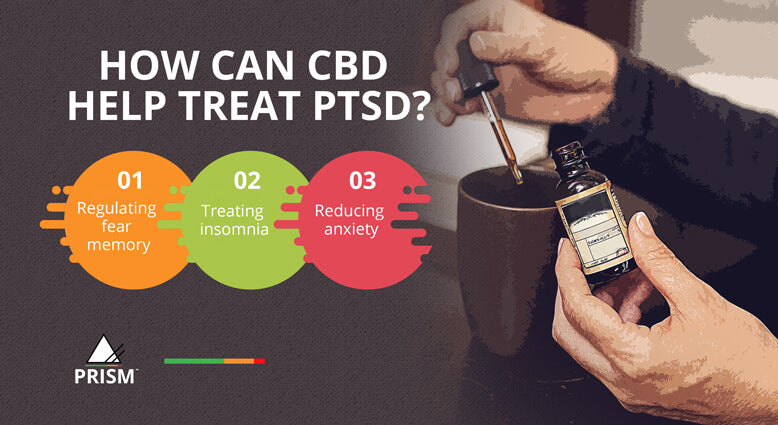 How can CBD help treat PTSD?
