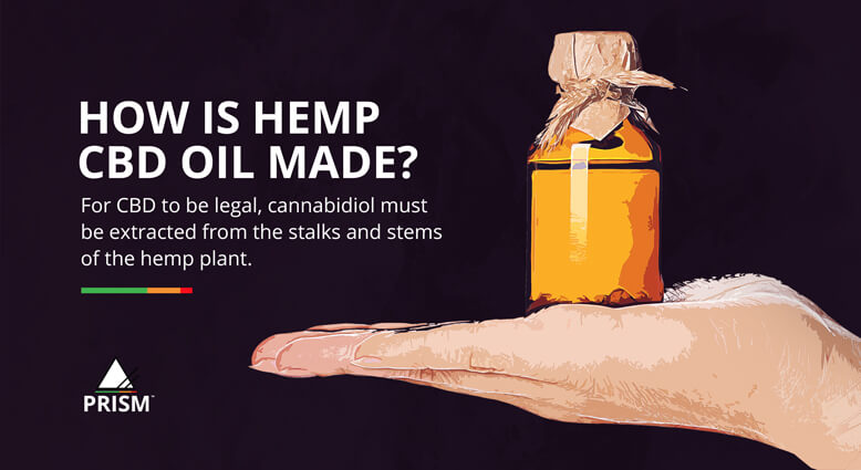 How is hemp CBD oil made?