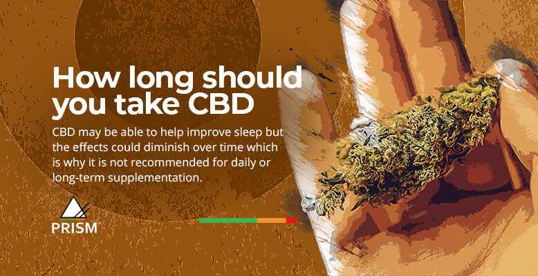 How long should you take CBD?