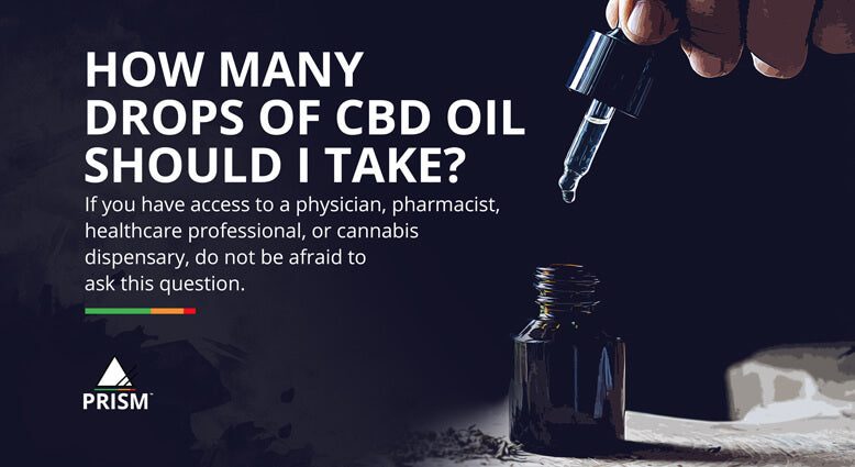 How many drops of CBD oil should I take?