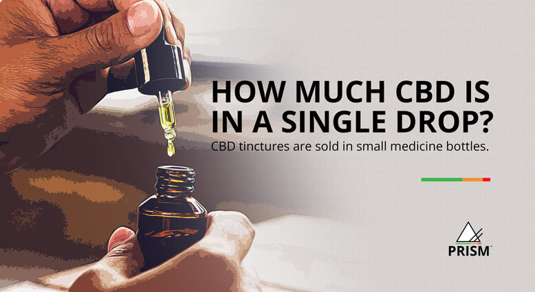 How much CBD is in a single drop?