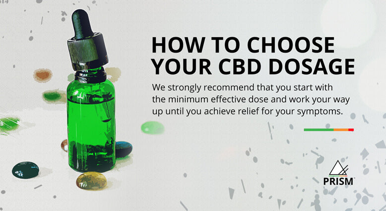 How to choose your CBD dosage