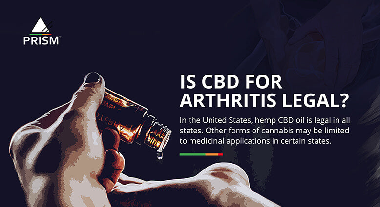 Is CBD for arthritis legal?