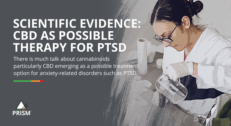 Scientific evidence: CBD as possible therapy for PTSD