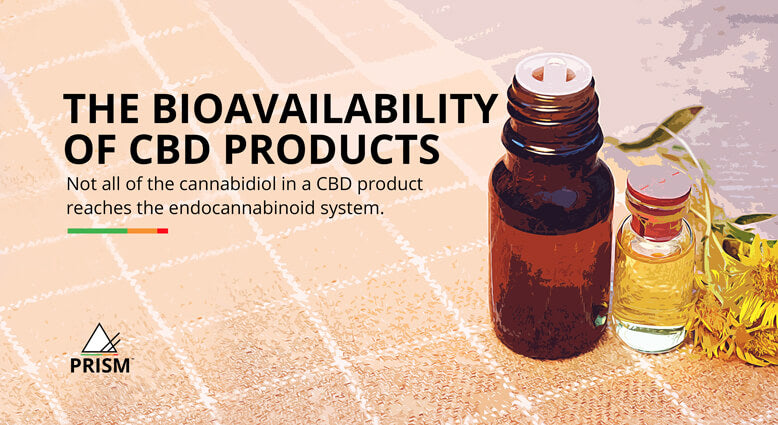 The bioavailability of CBD products
