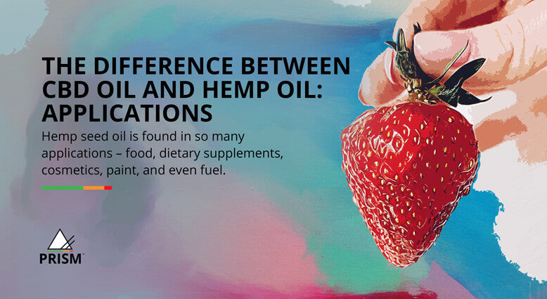 The difference between CBD oil and hemp oil: applications