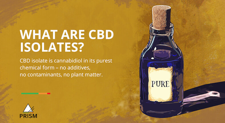 What are CBD isolates?