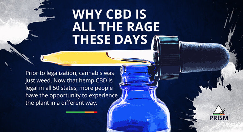 Why CBD is all the rage these days
