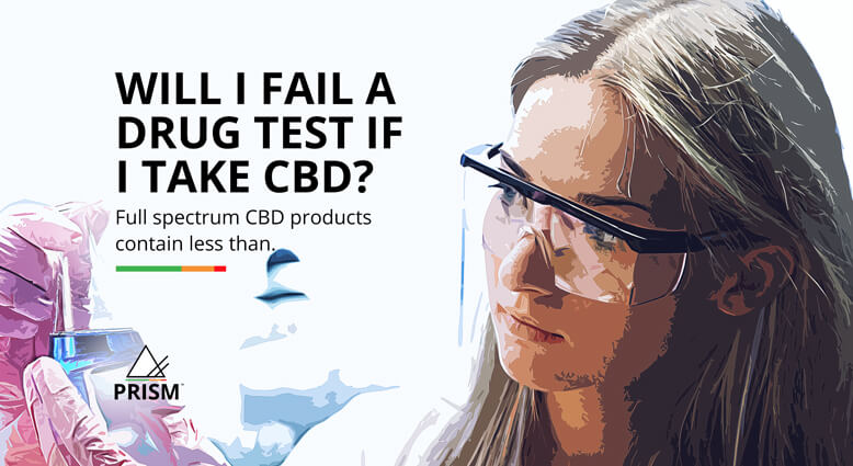 Will I fail a drug test if I take CBD?