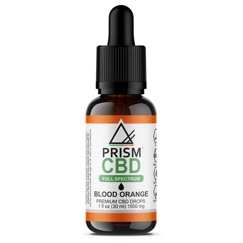 BLOOD ORANGE CBD OIL (FULL SPECTRUM)