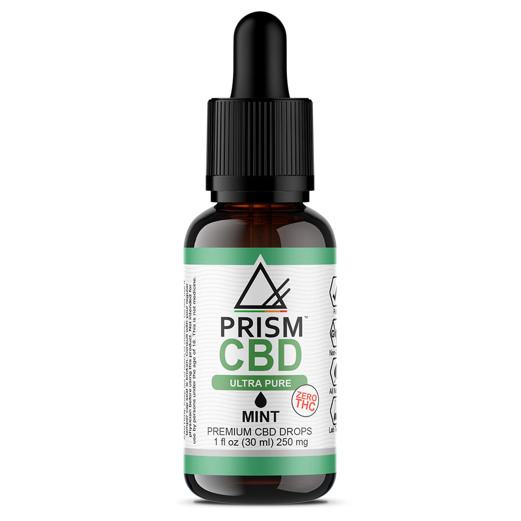 CBD Oil Mint 250mg 30ml Bottle
