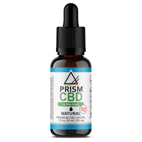 CBD Oil Natural 250mg 30ml Bottle