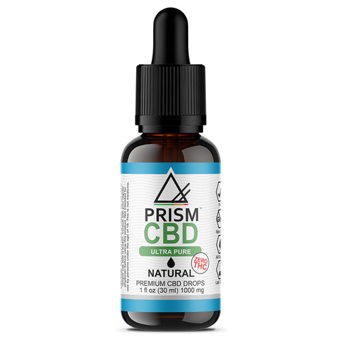CBD Oil Natural 1000mg 30ml Bottle