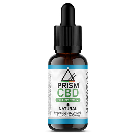 CBD Oil Full Spectrum Natural 500mg 30ml Bottle