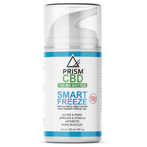 CBD Smart Freeze Gel Lotion Topical Bottle