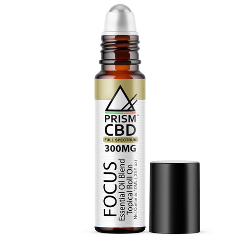 FOCUS CBD ESSENTIAL OIL ROLL ON (FULL SPECTRUM)