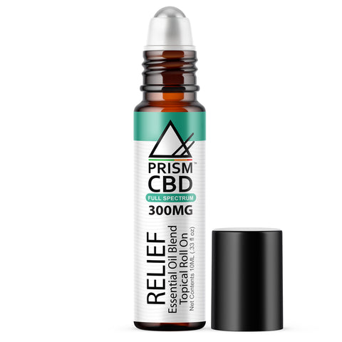 RELIEF CBD ESSENTIAL OIL ROLL ON (FULL SPECTRUM)