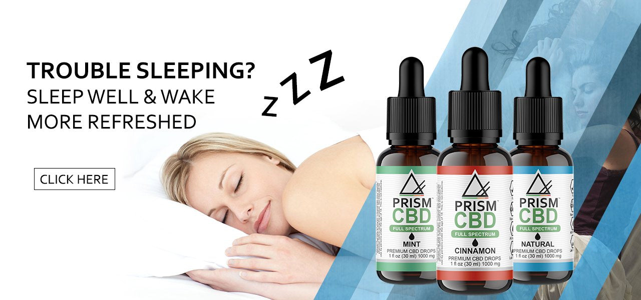 Sleep Aid CBD Drops Image of women sleeping