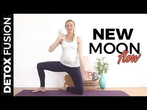 Day 17 - New Moon Flow | Vinyasa Yoga | Pranayama | Meditation (25-Min)