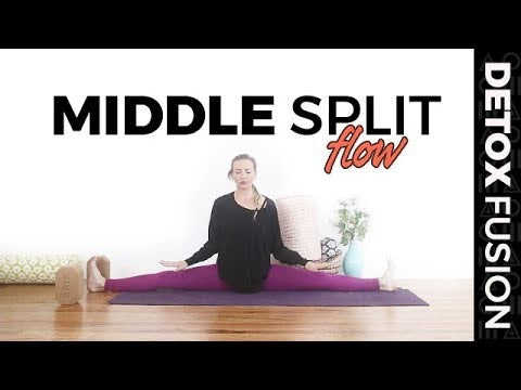 "Day 7 - Yoga for Flexibility |  Side Split ""Middle Splits"" Tutorial 