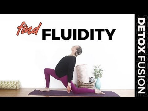 Day 6 - Yoga to Relieve Stress | Yoga + Meditation to Find Fluidity and Grace (20-Min)