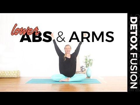 Day 19 -  Low Ab Workout | Yoga for Your Low Abs & Arms (35-Min)