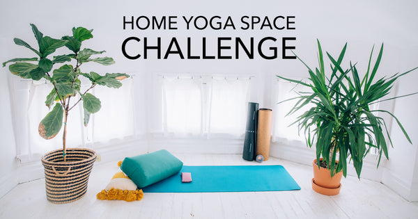 At Home Yoga Space Challenge