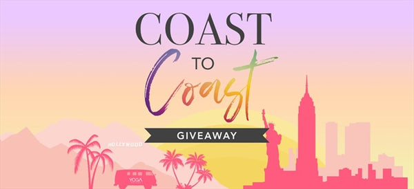 Introducing the YogaOutlet Coast to Coast GIVEAWAY!