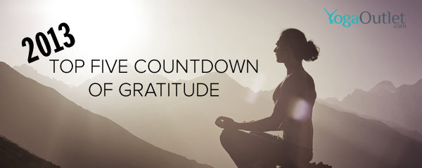 YogaOutlet's Top Five Countdown of Gratitude